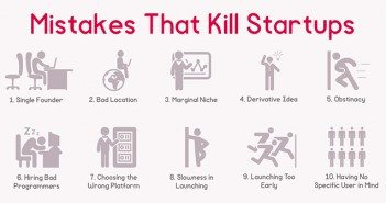 Mistake that kill startups