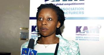 KAM Chief Executive, Ms. Phyllis Wakiaga