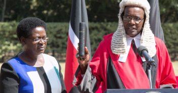 Chief Justice David Kenani Maraga