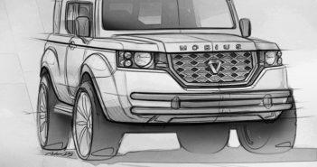 Design Sketch of the Mobius II Exterior