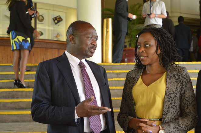 Energy PS, Eng. Joseph Njoroge and KAM CEO Ms. Phyllis Wakiaga