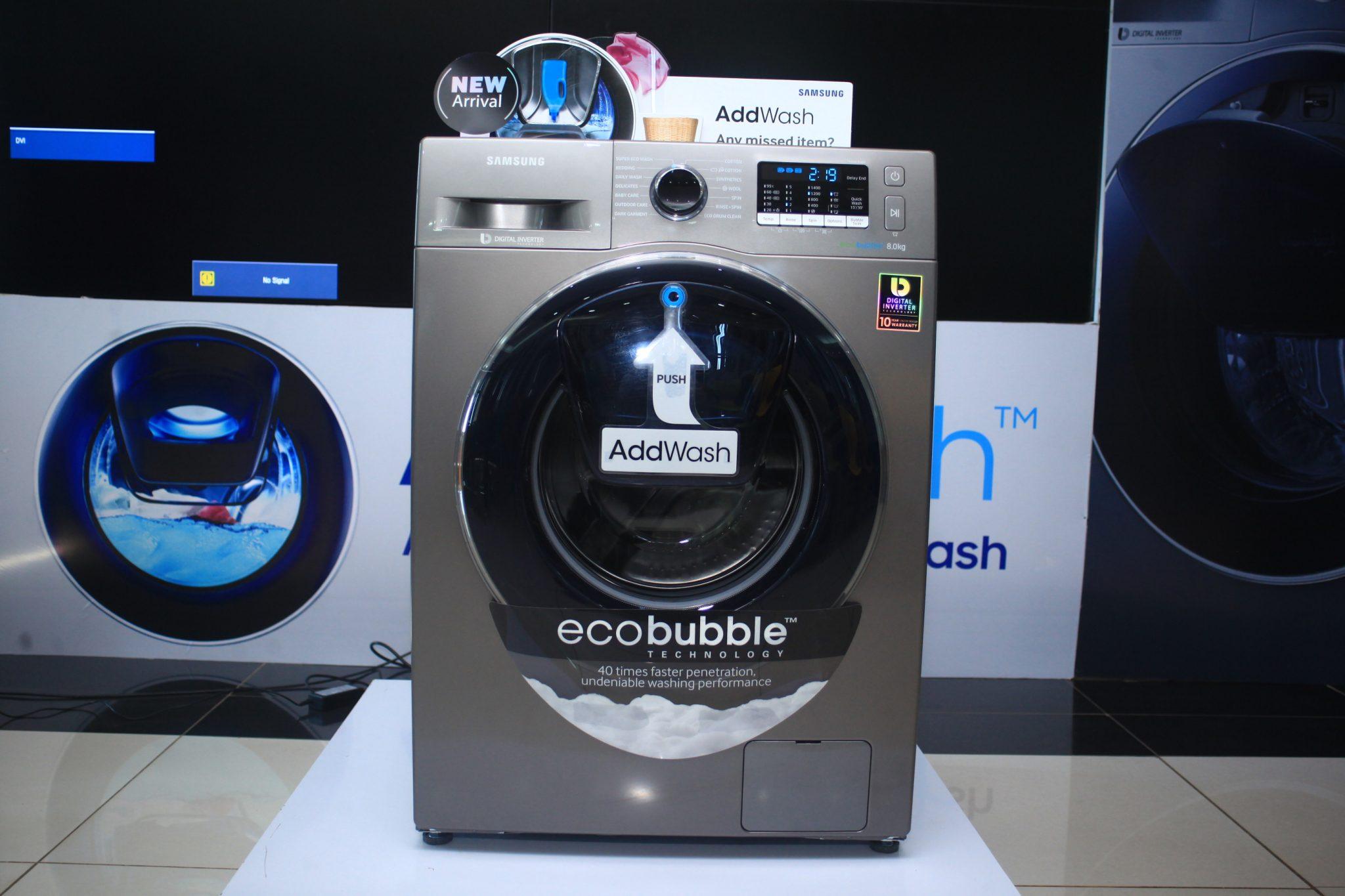 efficiency washing machine