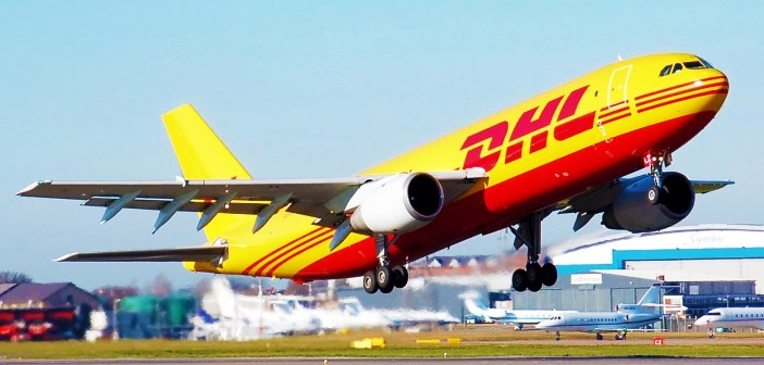 DHL-Plane