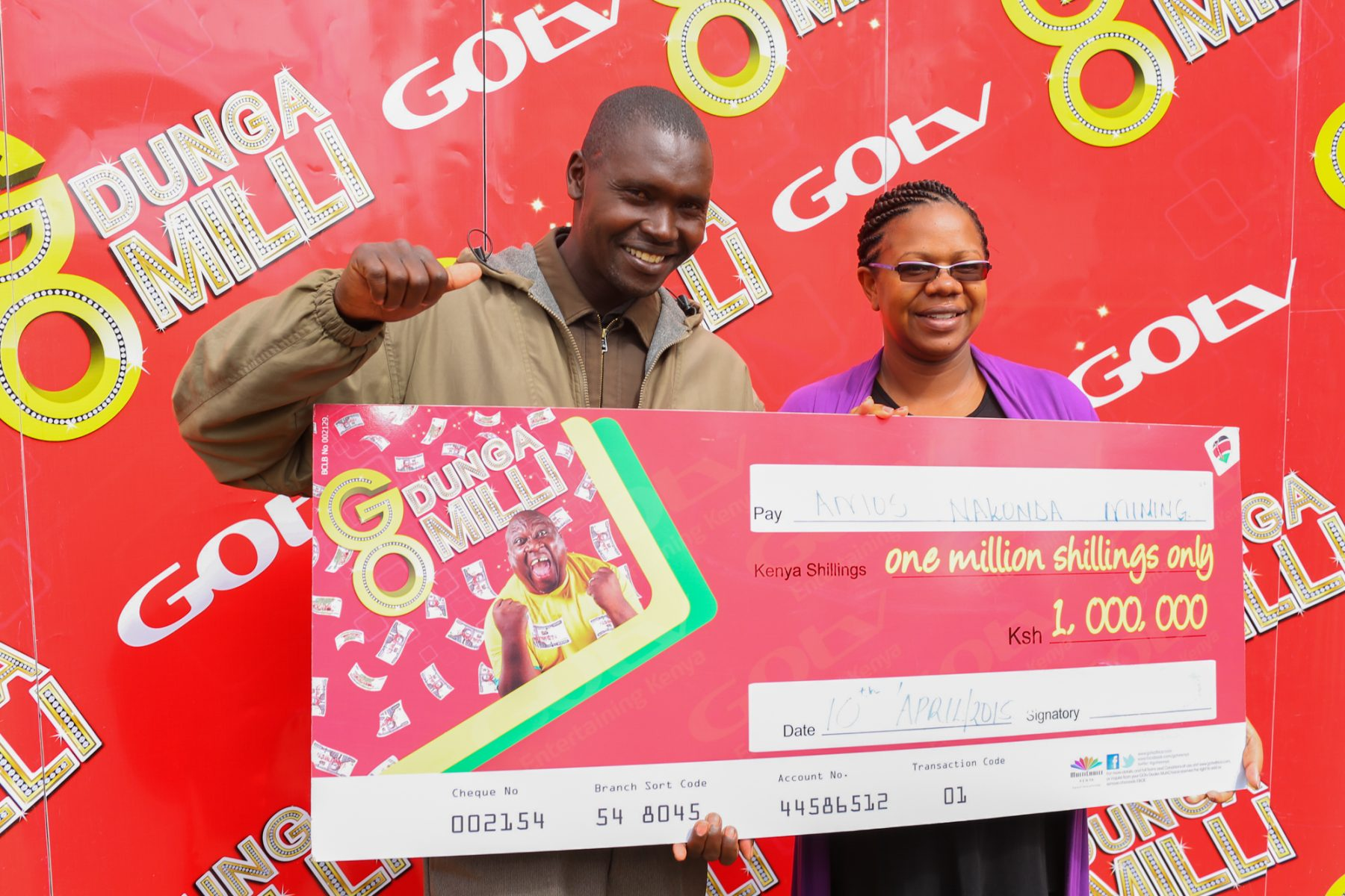 GOtv awards first male millionaire as competition enters