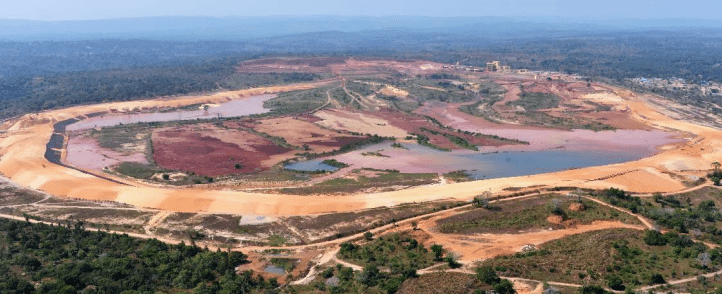 270 Hectares tailings storage facility