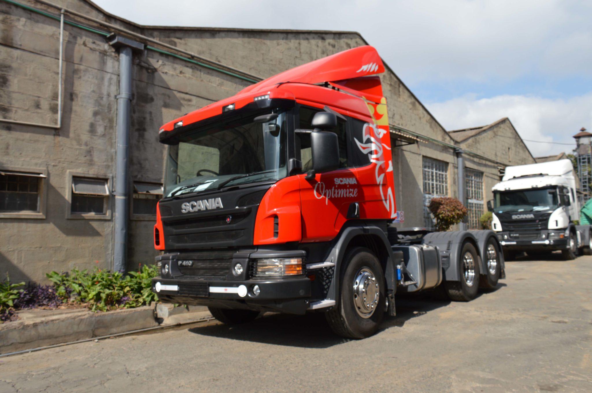 P410 LA6x2 HSA Scania Optimize truck