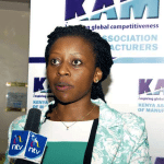 KAM Chief Executive, Ms. Phyllis Wakiaga