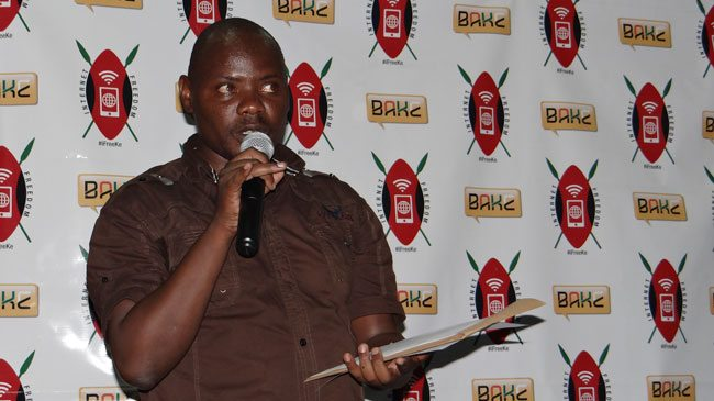 BAKE Chairman Kennedy Kachwanya Speaking at the launch
