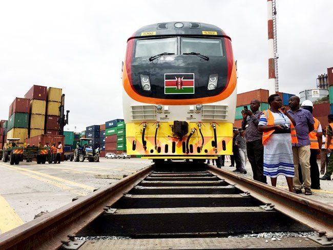 SGR-Kenya passenger