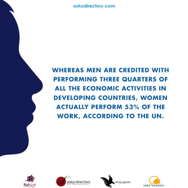 women contribution to economic achievement at 53 percent in africa