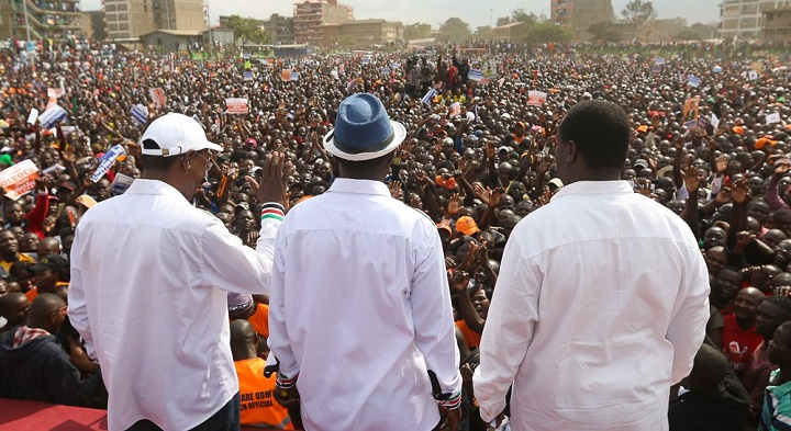Nasa Postpone Plans to Swear Raila and Kalonzo