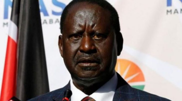 Raila Odinga Sworn in as People's President