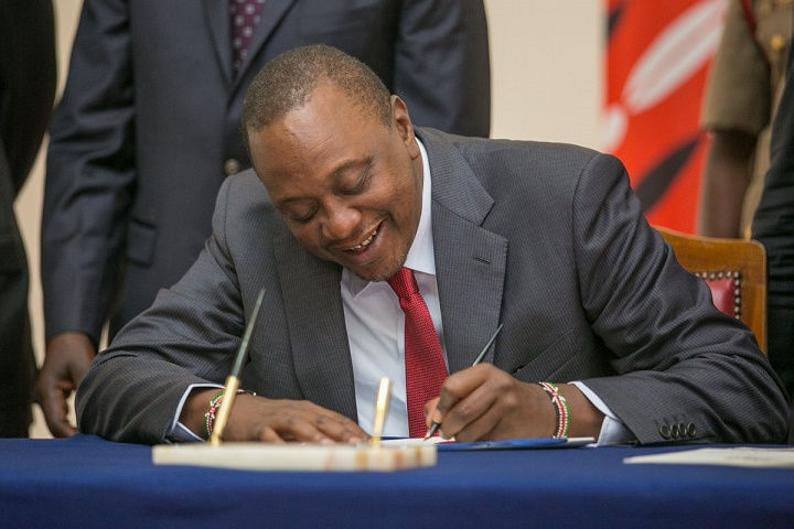 The signing of the Bill now paves way for the National Treasury to disburse funds to County Governments/PSCU