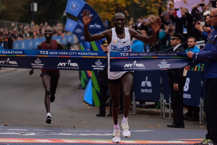 Geoffrey Kamworor, the 2017 New York City Marathon Champ