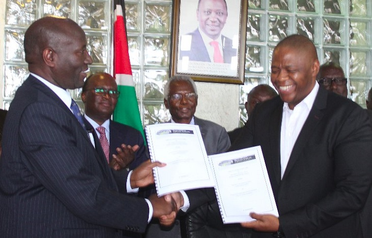 KSh62bn Contract Signed to Construct the Lamu,Garissa-Isiolo Road