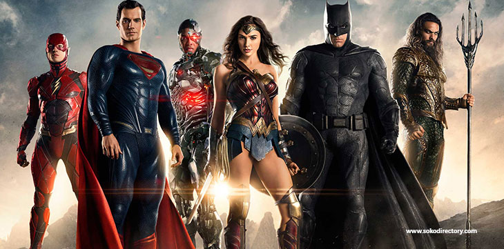 5-Star Super Hero invasion 'Justice League' premieres Friday