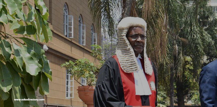 Chief Justice Maraga Named  2017 Jurist of the Year