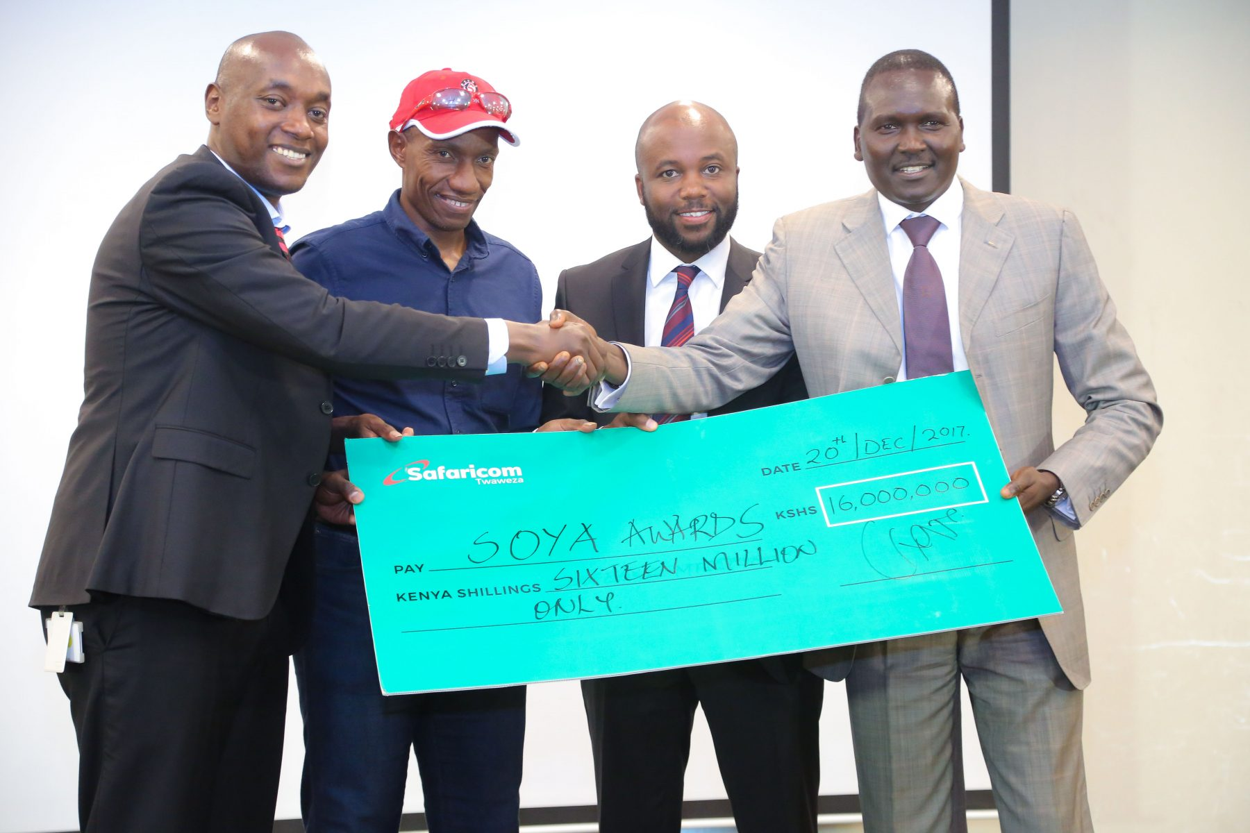 Safaricom Announces KSH16 Million SOYA Sponsorship