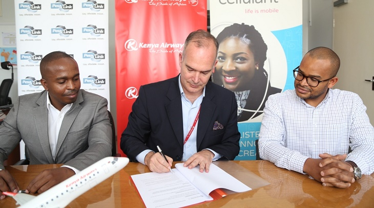 Kenya Airways partner with Cellulant and Pesalink to offer Innovative online Payment Solutions
