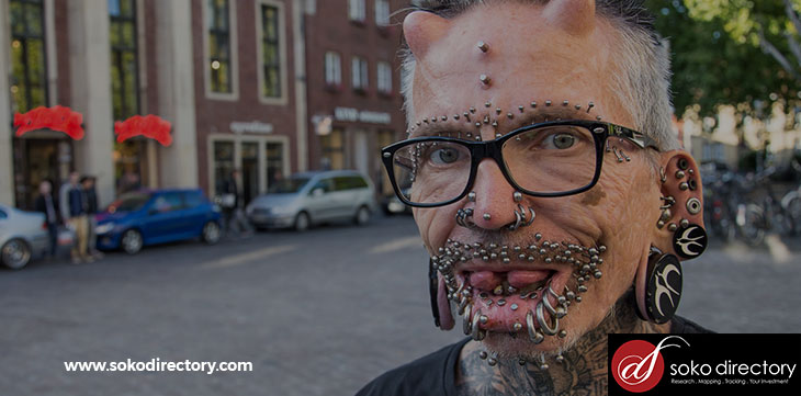 Did You Know Rolf Buchholz Has Undergone 516 Body Modifications