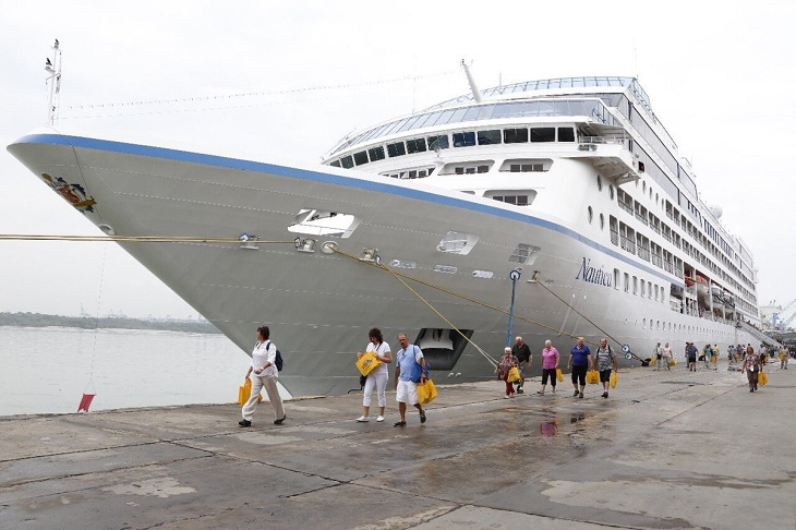 MS Nautica : Cruise Ship Docks at Mombasa With 971 Tourists