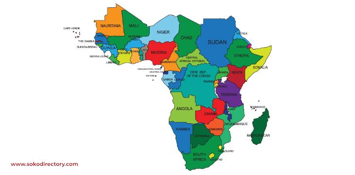Sub-Saharan African countries