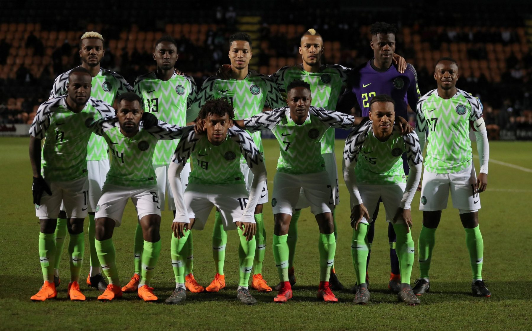 Nigeria Football Team