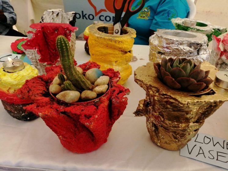 Monica Waithira's pots