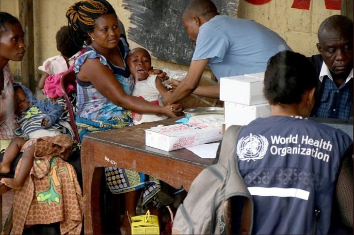 Measles in DRC