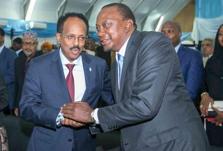 President Uhuru President Farmaajo