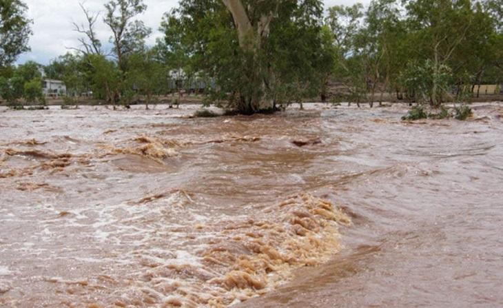 River Malewa floods
