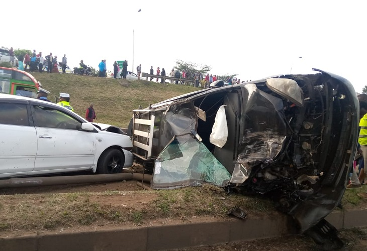 Thika Rd Muthaiga accident