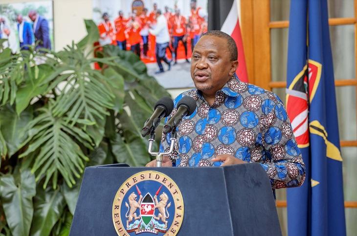 President Uhuru-coronavirus