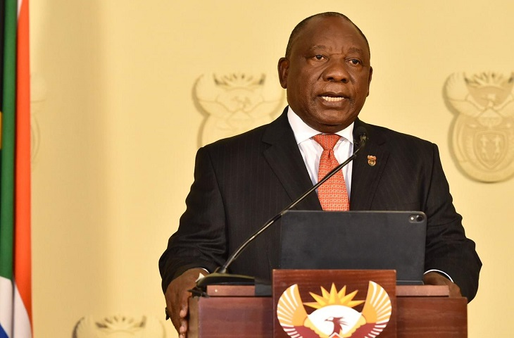 South Africa Ramaphosa