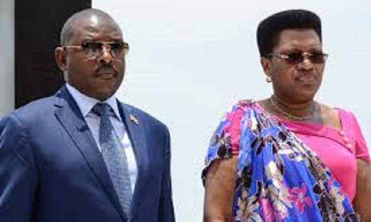 Burundi's First Lady