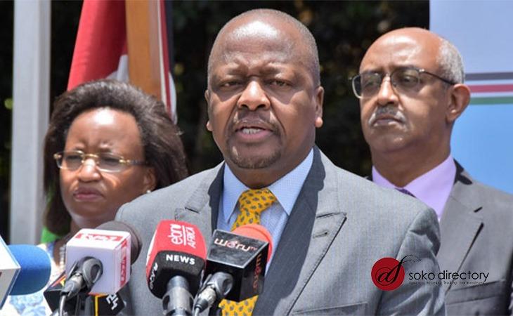 Mutahi Kagwe COVID