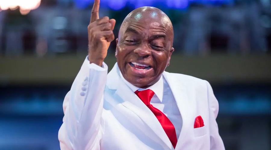 Church Pastor David Oyedepo